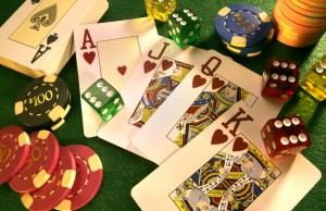 roulette poker blackjack