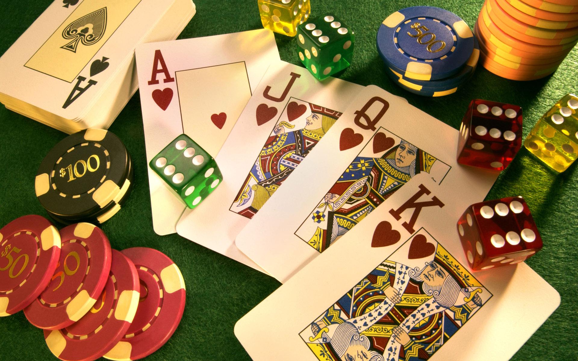 roulette poker blackjack